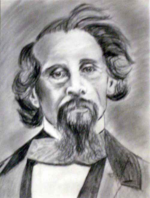 Dickens sketch, by George McManus